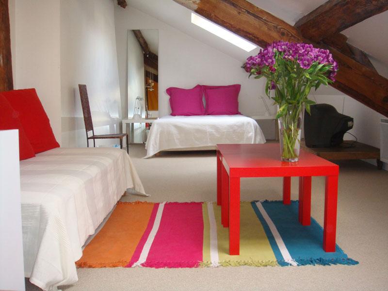 Chambres d 39 h tes charonne bastille paris europa bed for Chambre d hotes bastille