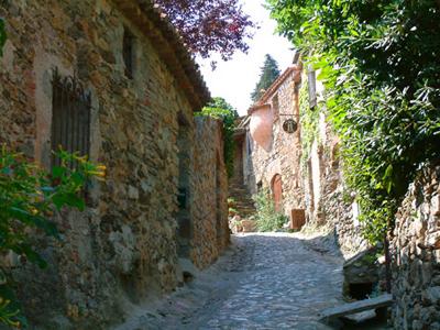 Chambres d 39 h tes la figuera castelnou europa bed breakfast - Jardin romantique nuit perpignan ...