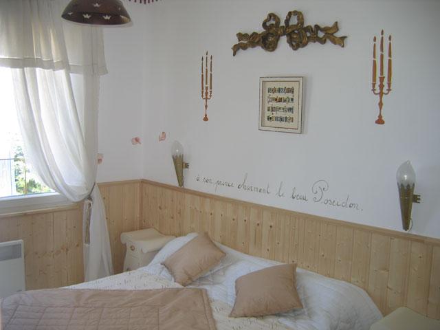 chambres d 39 h tes la maison du pecheur damgan europa bed. Black Bedroom Furniture Sets. Home Design Ideas